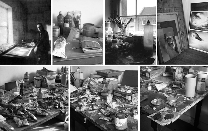 John's studio on Capel Street
